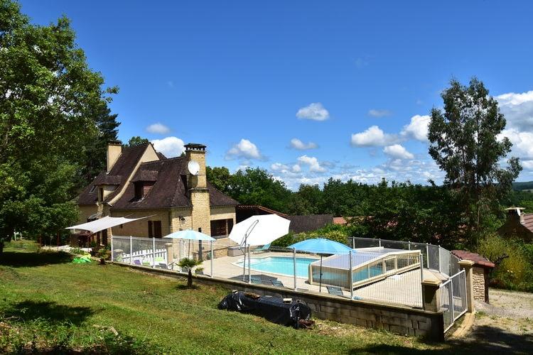 Vakantiehuis met zwembad met wifi  DordogneMaison de vacances Calviac en Périgord