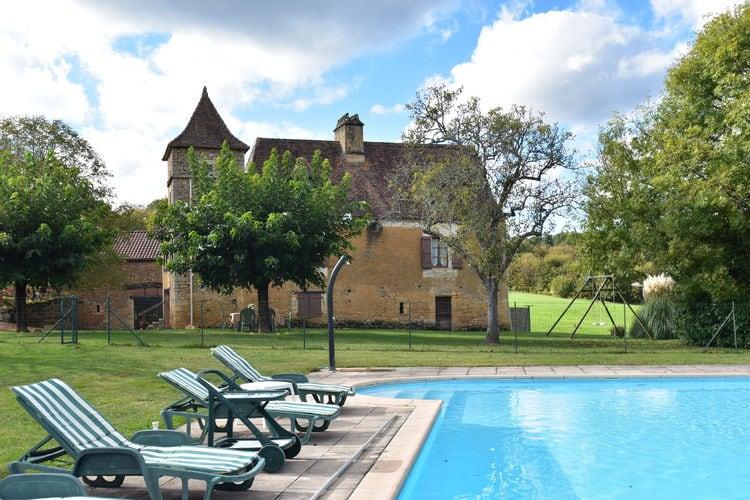 Vakantiehuis met zwembad met wifi  BesseMaison de vacances Besse les Vitarelles 6 p