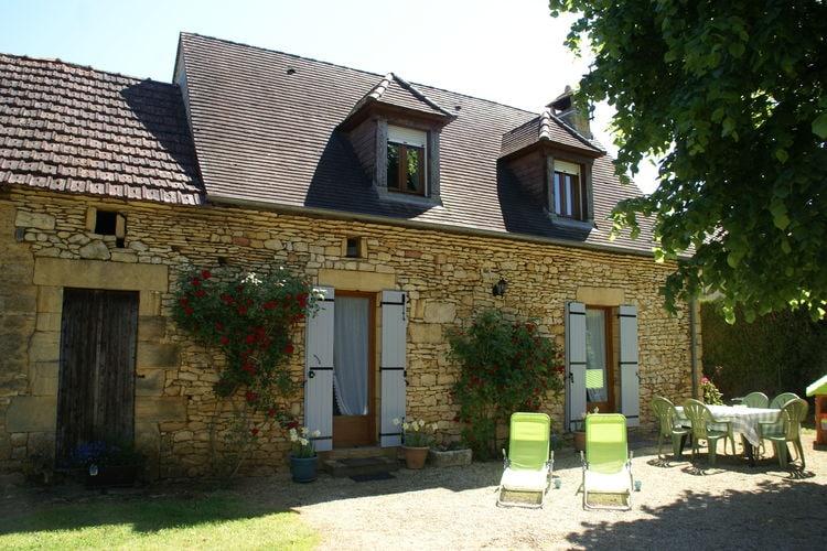Vakantiehuis  met wifi  DordogneMaison de vacances Prats de Carlux 5p