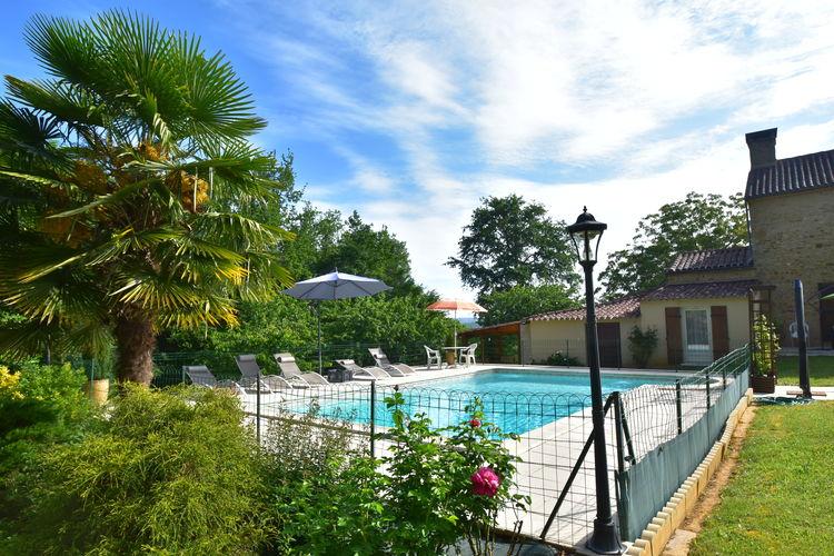 Vakantiehuis met zwembad met wifi  Villefranche-du-PerigordMaison de vacances Villefranche du Périgord Bonnet