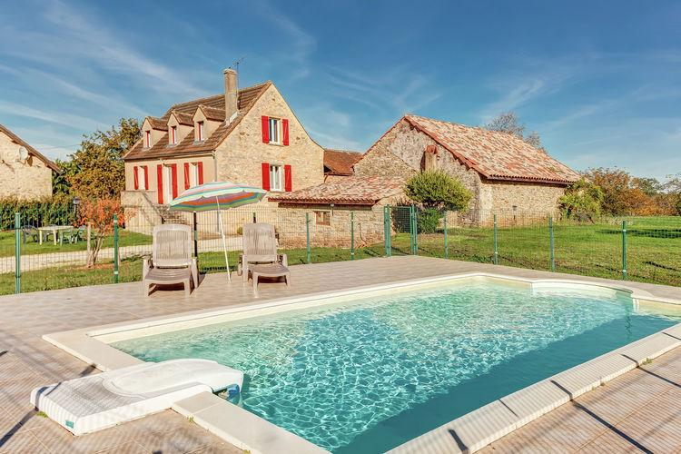 Vakantiehuis met zwembad met wifi  Prats-du-PerigordMaison de vacances Prats du Périgord  Mas de Mouly