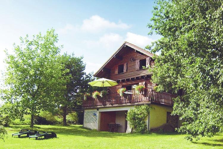 Chalet  met wifi  Hommert  Gezellige chalet met prachtig uitzicht over bosrijke omgeving in Frankrijk