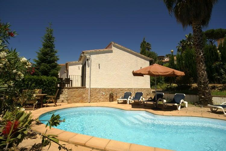 Vakantiehuizen Spanje | Costa-Brava | Vakantiehuis te huur in Calonge met zwembad  met wifi 6 personen