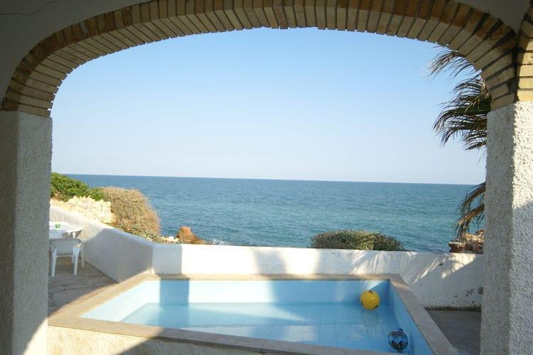 Vakantiehuis met zwembad met wifi  VinarosCupedo