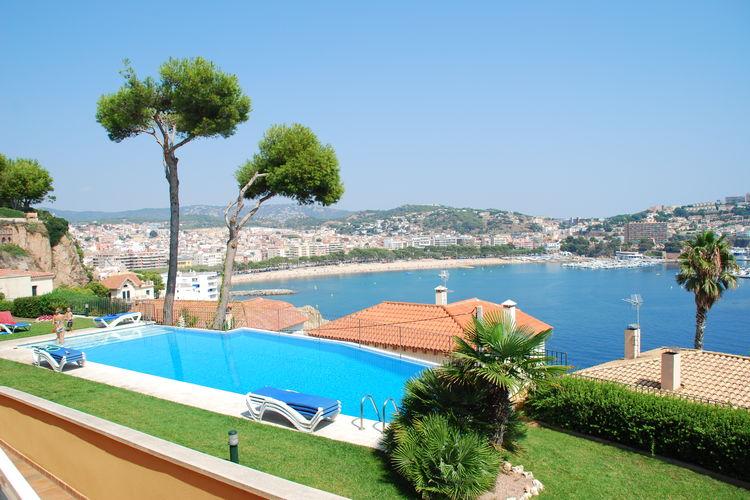 Appartement met zwembad met wifi  Costa BravaMontecarlo