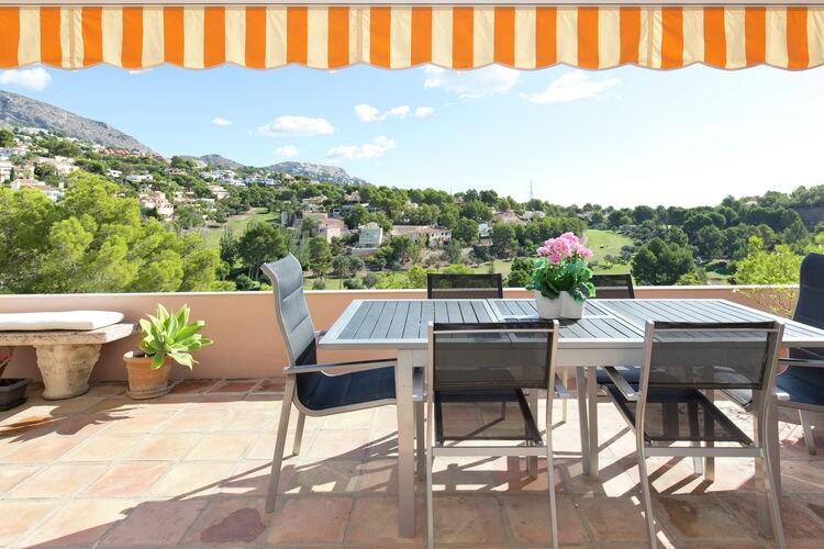 Appartement met zwembad met wifi  Costa BlancaAltea la Vieja Altea club de golf