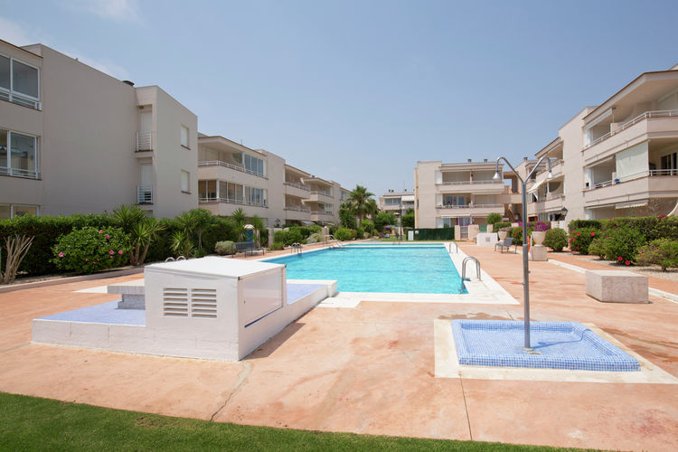 Appartement Spanje, Costa del Azahar, Vinaros Appartement ES-12500-21