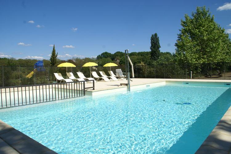 Vakantiehuis met zwembad met wifi  Castelnaud-La-ChapelleParc Les Marrons 5 pers Tulipe