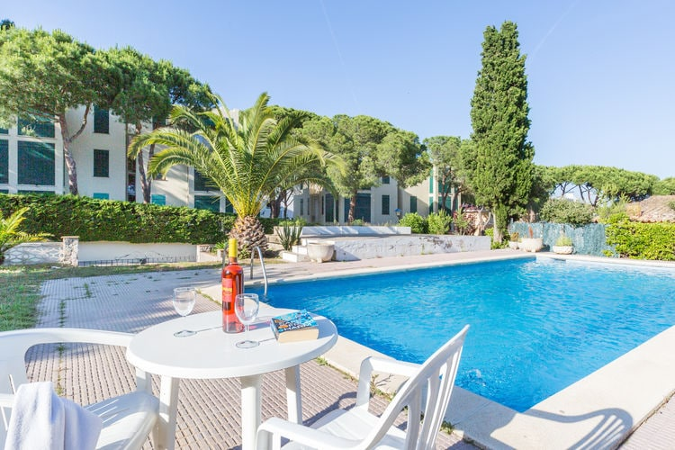 Vakantiehuizen Spanje | Costa-Brava | Appartement te huur in Calella-de-Palafrugell met zwembad  met wifi 6 personen