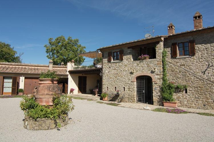 met je hond naar dit vakantiehuis in Cortona