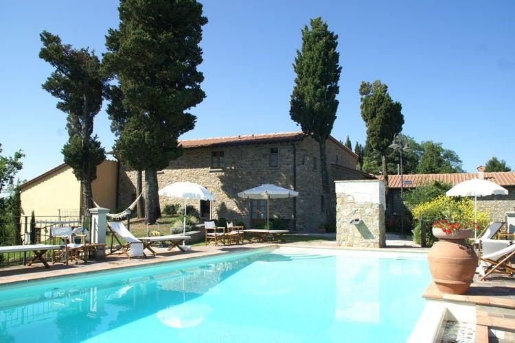 Vakantiehuis met zwembad met wifi  ToscanaBorgo Montecarelli Noce