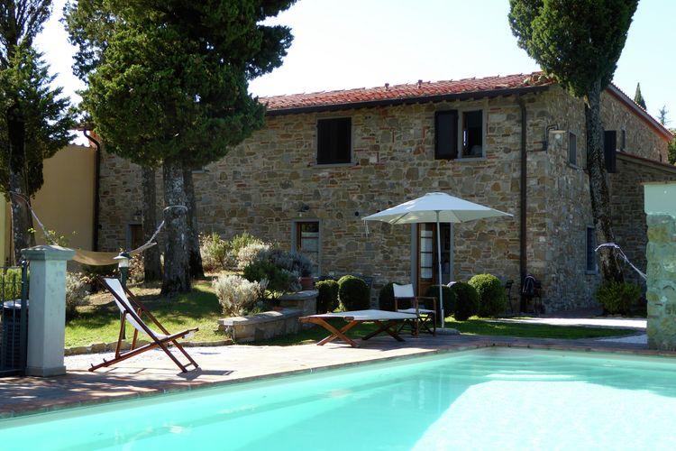Vakantiehuis met zwembad met wifi  ToscanaBorgo Montecarelli Sorbo