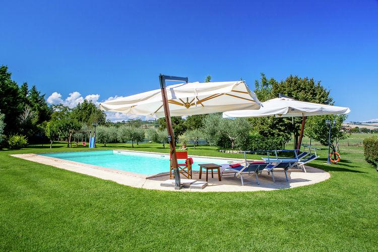 Appartement huren in Umbrie - met zwembad  met wifi met zwembad voor 6 personen  Heerlijk rustige, super centrale l..
