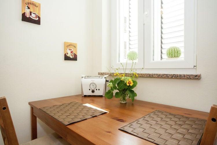 Appartement Kroatië, eld, Krk Appartement HR-51500-11