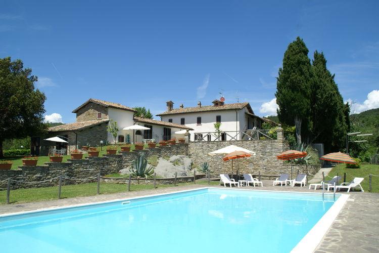 Woning Italie | Umbrie | Vakantiehuis te huur in Citta-di-Castello-pg met zwembad  met wifi 5 personen