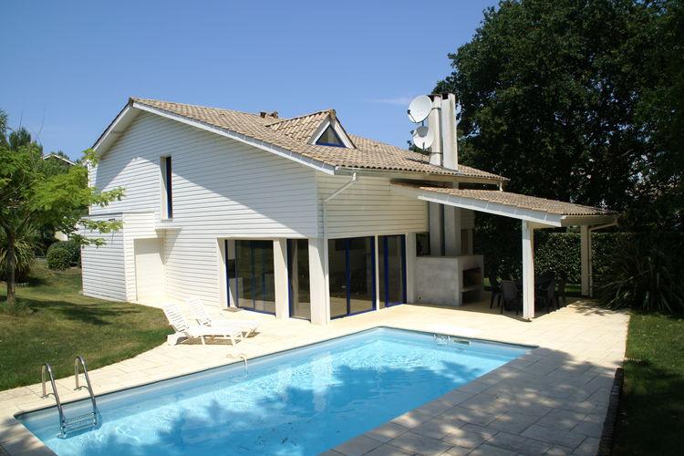 Vakantiehuizen Frankrijk | Cote-Atlantique | Villa te huur in Moliets met zwembad  met wifi 8 personen