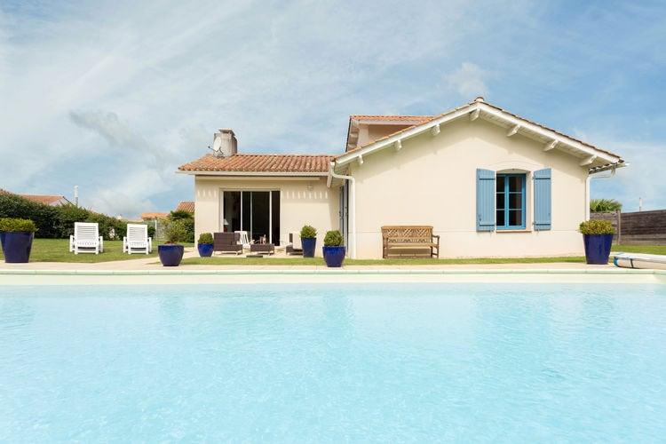Frankrijk   Pays-de-la-loire   Villa te huur in St-Gilles-Croix-De-Vie met zwembad  met wifi 6 personen