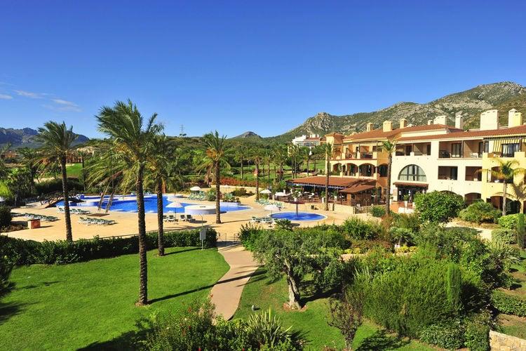 Vakantiehuizen Spanje | Costa-Dorada | Appartement te huur in Mont-Roig-del-Camp met zwembad  met wifi 7 personen
