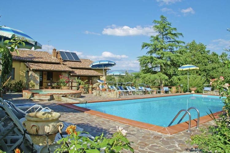 CASTIGLION-FIORENTINO Vakantiewoningen te huur Gezellig en knus appartement in een natuurlijke omgeving nabij de Chianti-vallei