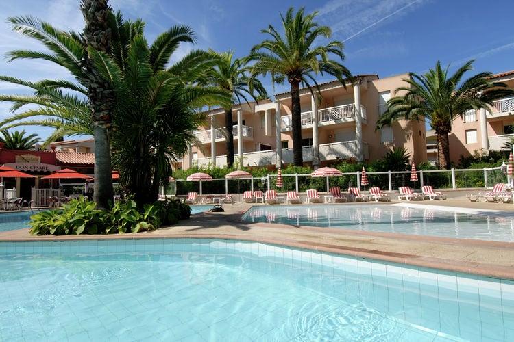 Appartement met zwembad met wifi  Provence-Alpes Cote d AzurRésidence Open Golfe Juan 2
