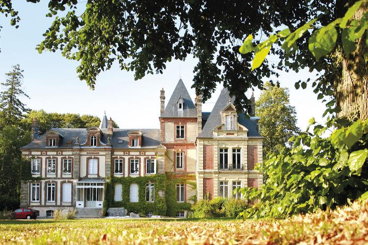 Appartement huren in Gonneville-Sur-Honfleur - met zwembad  met wifi met zwembad voor 6 personen  Op Résidence Le Château de Prêt..