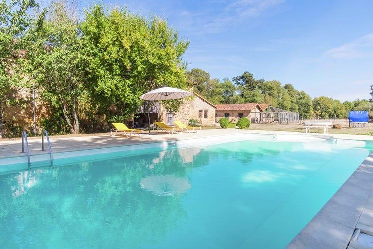 Frankrijk | Pays-de-la-loire | Vakantiehuis te huur in Pressac met zwembad   6 personen