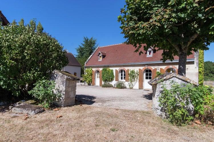 Woning Frankrijk | Region-Centre | Vakantiehuis te huur in Montrichard met zwembad  met wifi 6 personen