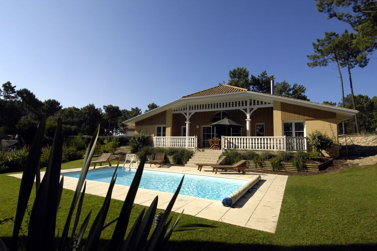 Villa met zwembad met wifi  LacanauAtlantic Green 4