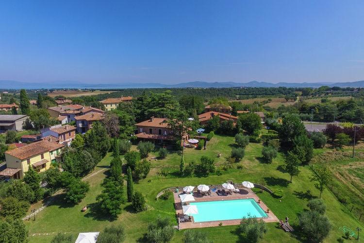 Appartement huren in Umbrie - met zwembad  met wifi met zwembad voor 4 personen  Het beste van Toscane en Umbrië i..