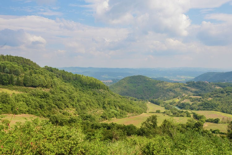 Woning Italie | Umbrie | Vakantiehuis te huur in Monte-Santa-Maria-in-Tiberina met zwembad  met wifi 4 personen