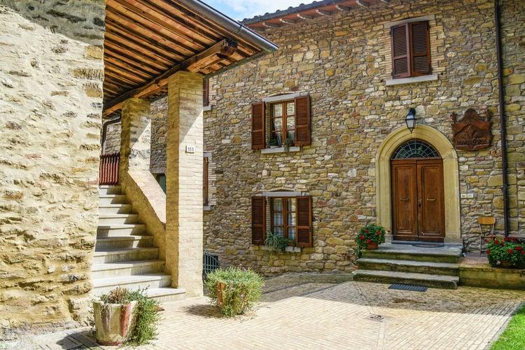 Vakantiehuizen Italie | Umbrie | Vakantiehuis te huur in Monte-sta-Maria-Tiberina met zwembad  met wifi 4 personen
