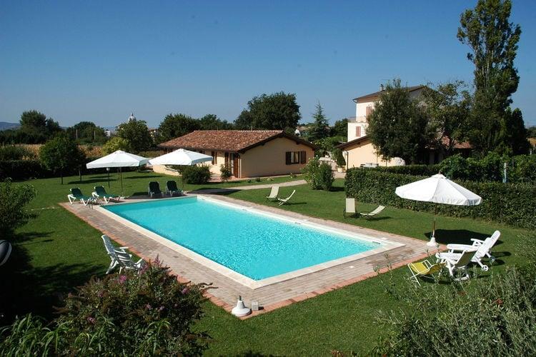Woning Italie | Umbrie | Vakantiehuis te huur in Assisi-pg met zwembad  met wifi 6 personen