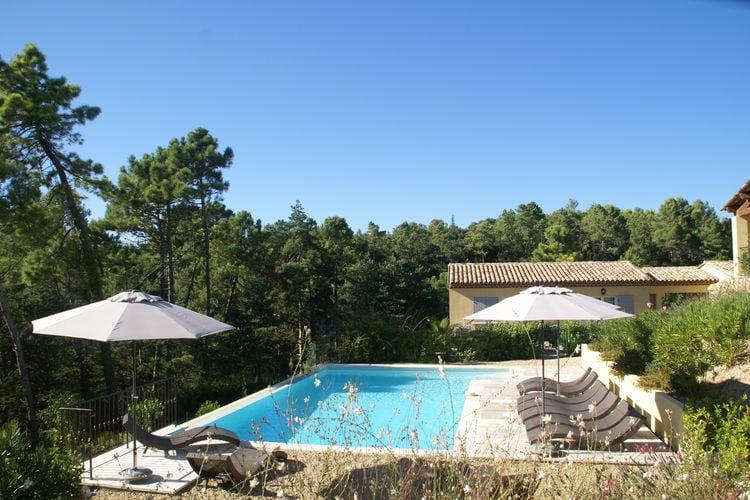 Appartement met zwembad met wifi  MontaurouxVerdi