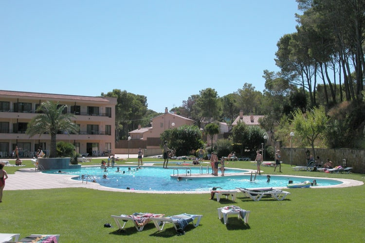 Appartement met zwembad met wifi  Costa BravaVakantiepark Aparthotel Golf Beach 3