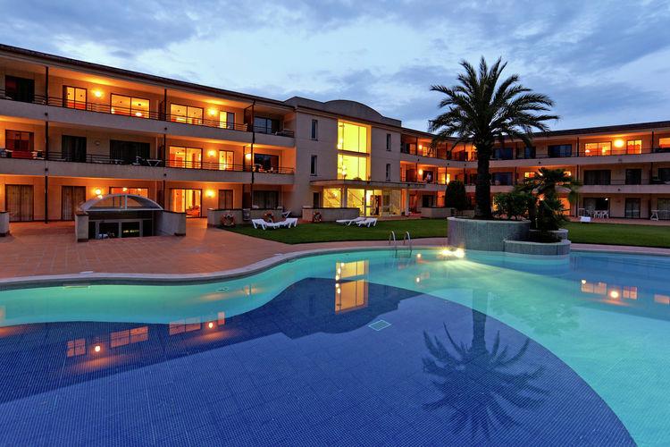 Appartement met zwembad met wifi  Costa BravaVakantiepark Aparthotel Golf Beach 5