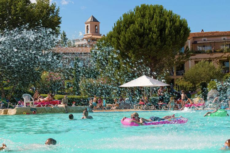 Mallemort Vakantiewoningen te huur Groot vakantiehuis voor 6-7 personen op park met zwemparadijs, bij Mallemort