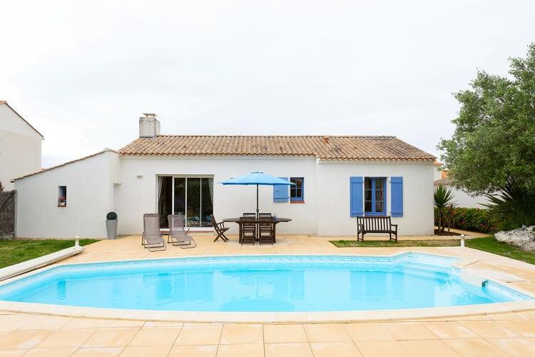 Vakantiehuizen Frankrijk | Pays-de-la-loire | Villa te huur in Saint-Jean-De-Monts met zwembad  met wifi 4 personen