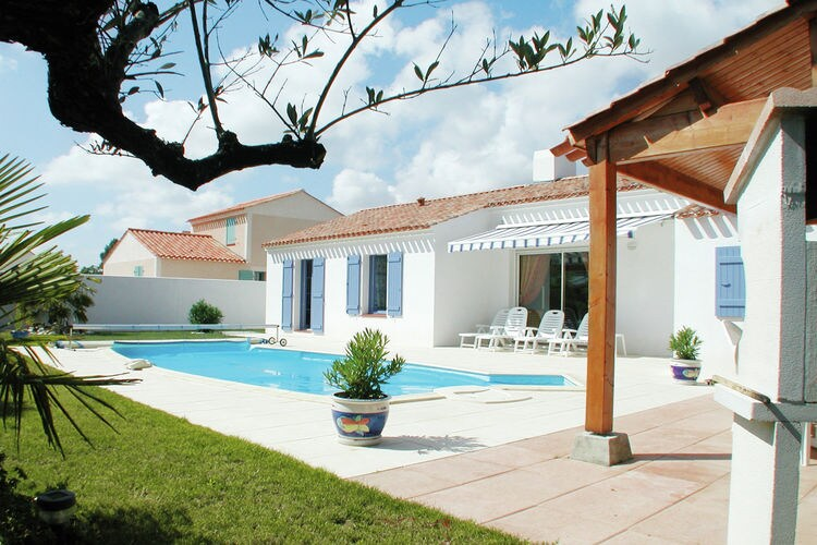 Villa huren in Pays de la loire - met zwembad  met wifi met zwembad voor 6 personen  Op villapark Domaine de Vertmarine..