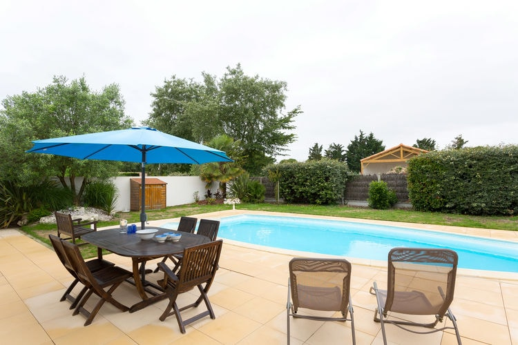 Vakantiehuizen Frankrijk | Pays-de-la-loire | Villa te huur in Saint-Jean-De-Monts met zwembad  met wifi 6 personen