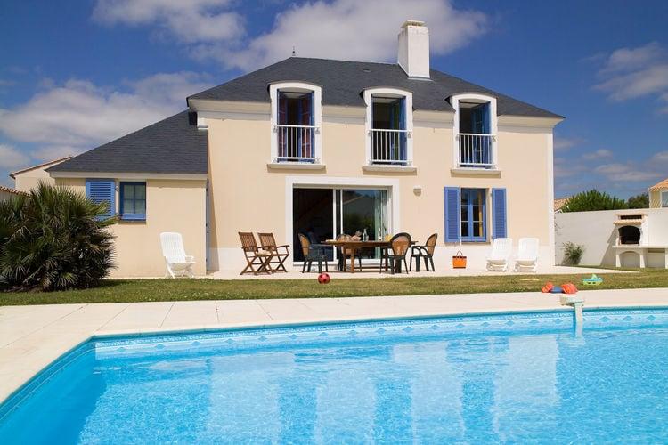 Villa huren in Pays de la loire - met zwembad  met wifi met zwembad voor 8 personen  Op villapark Domaine de Vertmarine..