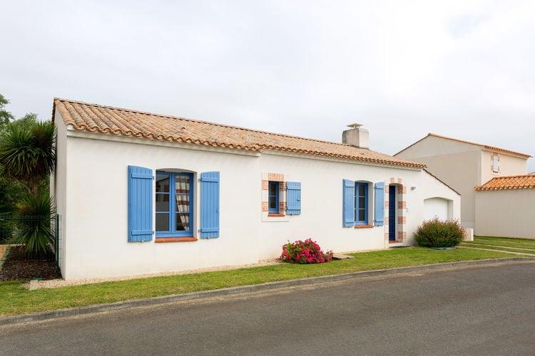 Vakantiehuizen Frankrijk | Pays-de-la-loire | Villa te huur in Saint-Jean-De-Monts met zwembad  met wifi 8 personen
