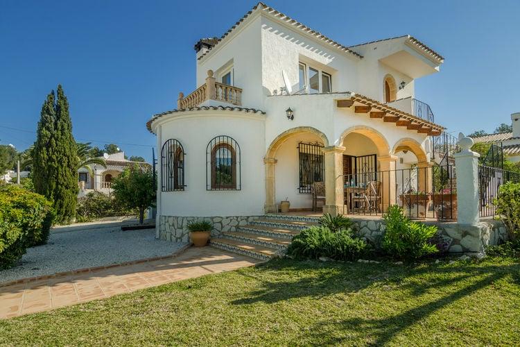 Vakantiehuizen Spanje | Costa-Blanca | Villa te huur in Javea met zwembad  met wifi 6 personen