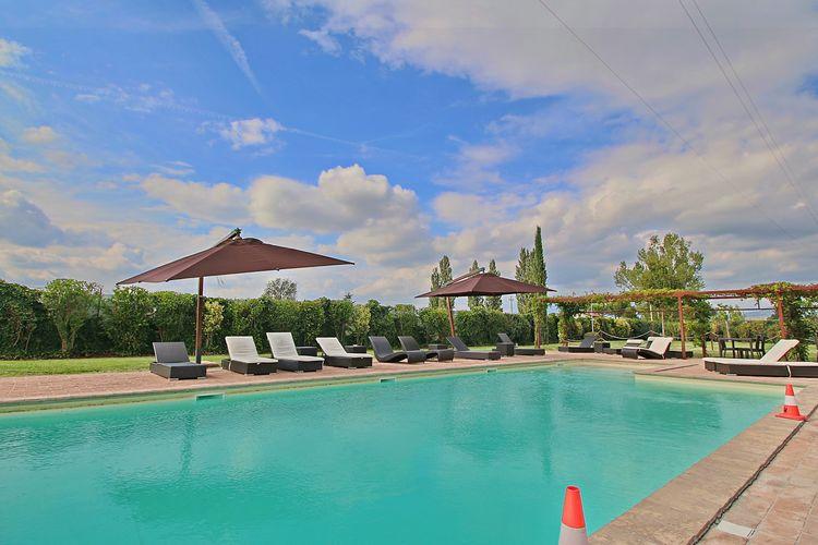 Vakantiehuizen Italie | Umbrie | Vakantiehuis te huur in Foligno met zwembad  met wifi 2 personen