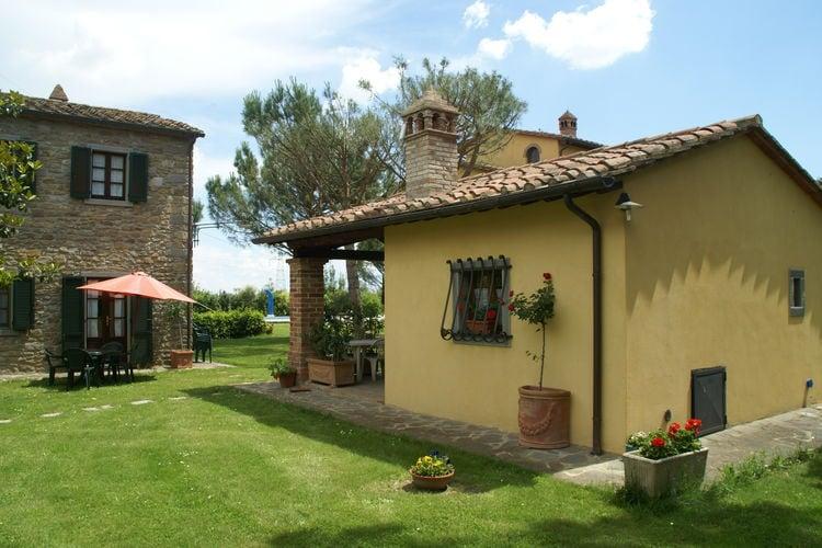 Italie | Toscana | Chalet te huur in Cortona met zwembad aan zee met wifi 2 personen
