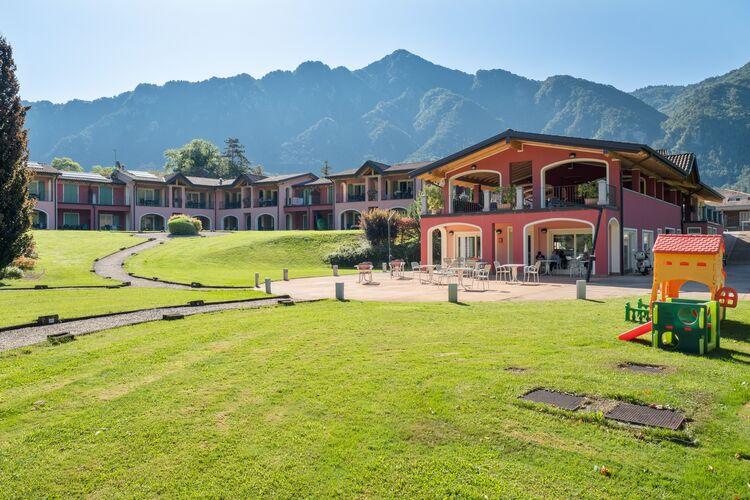 Vakantiehuizen Italie | Italiaanse-Meren | Appartement te huur in Idro-bs met zwembad  met wifi 8 personen