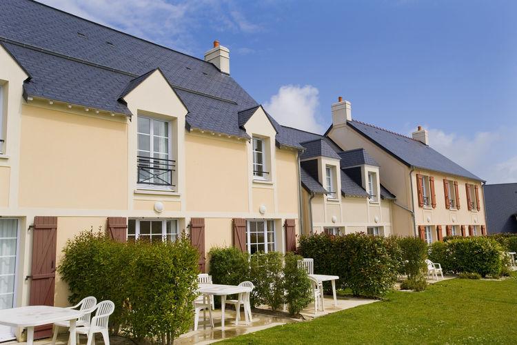 Appartementen Frankrijk | Normandie | Appartement te huur in Port-en-Bessin met zwembad  met wifi 5 personen