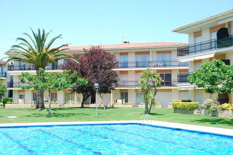 Appartement met zwembad met wifi  Calella de Palafrugell  Costa Brava