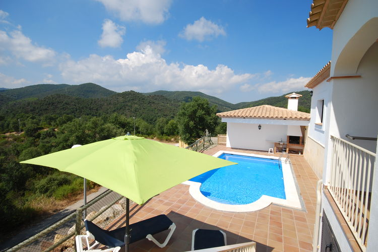 Villa huren in Calonge - met zwembad  met wifi met zwembad voor 8 personen  Comfortabele, vrijstaande villa me..