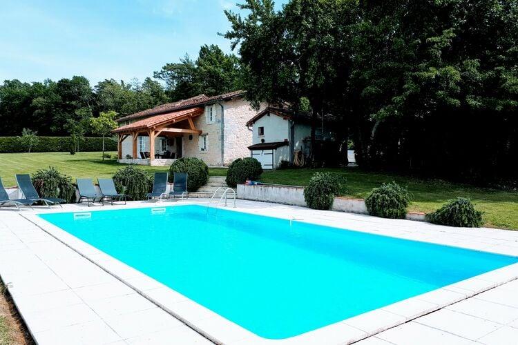 Vakantiehuis met zwembad met wifi  DordogneMaison de vacances Verteillac