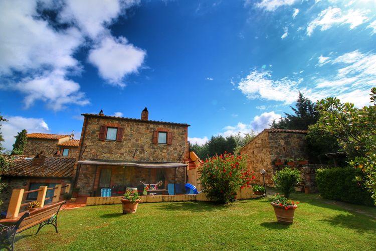 Vakantiehuizen Italie | Toscana | Boerderij te huur in Castiglione-Dorcia met zwembad  met wifi 8 personen